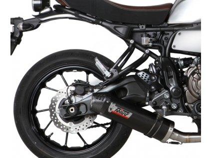 Výfuk MIVV KARBON Ovál / Yamaha XSR 700 (16-19)