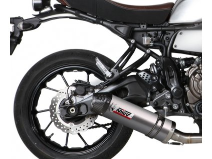 Výfuk MIVV Titan Ovál Carbon End / Y.053.L4C / Yamaha XSR 700 (16-18)