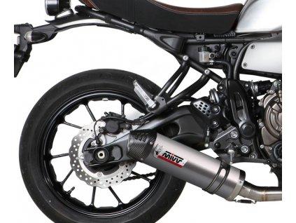 Výfuk MIVV TITAN Ovál / Yamaha XSR 700 (16-19)