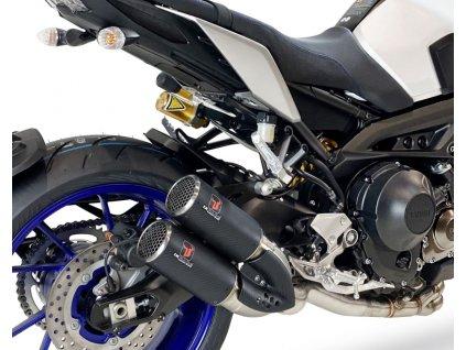 Výfuk IXRACE PURE Inox / Yamaha MT-09 (14-19) / Yamaha XSR 900 (16-19)