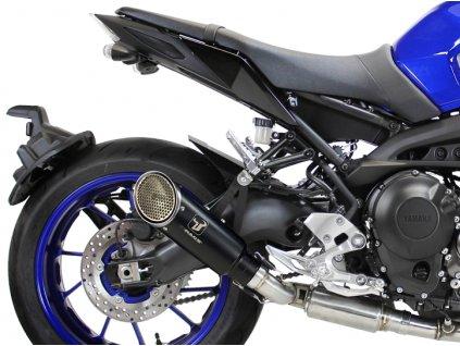 Výfuk IXRACE PURE BLACK / Yamaha MT-09 (14-18) / Yamaha XSR 900 (16-18)