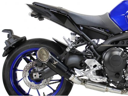 Výfuk IXRACE PURE BLACK / Yamaha MT-09 (14-19) / Yamaha XSR 900 (16-19)