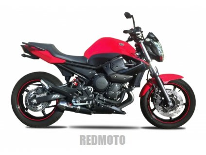 Výfukový systém IXRACE PURE INOX BLACK / Yamaha XJ6 / Diversion (09-16)