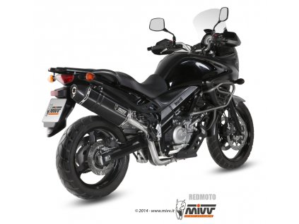 Výfuk MIVV Speed Edge Black / Suzuki DL 650 V-Strom (12-16)