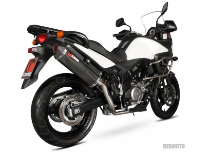Výfuk SCORPION HEXAGON / Suzuki DL 650 V-Strom (12-16)