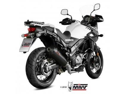 Výfuk MIVV Karbon Ovál / Suzuki DL 650 V-Strom (17-19)