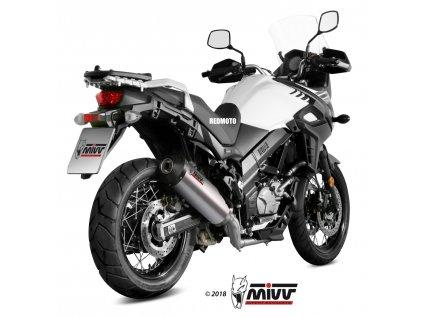 Výfuk MIVV Titan Ovál / Suzuki DL 650 V-Strom (17-19)