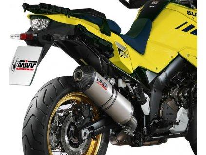 Výfuk MIVV Titan Ovál / Suzuki DL 1000 V-STROM (14-19)