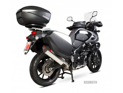 Výfuk Scorpion Serket Hexagon Nerez / Suzuki DL 1000 V-STROM (14-19)