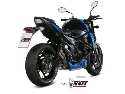 Výfuk MIVV Double Gun Titan Racing / Suzuki GSX-S 750 (17-19)