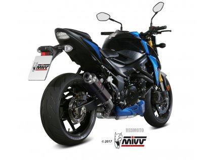 Výfuk MIVV GP / Suzuki GSX-S 750 (17-19)