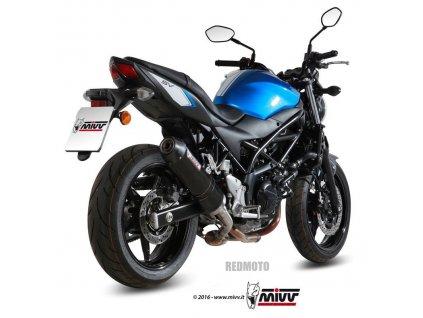 Výfuk MIVV Karbon Ovál / Suzuki SV 650 (16-19)