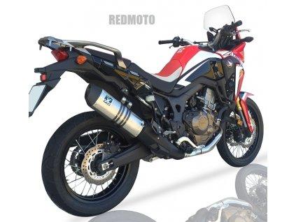 Výfuk IXIL Hexoval Xtrem / Honda CRF 1000L Africa Twin / DCT (16-17)