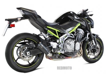 Výfuk IXRACE MK2 Inox BLACK / Kawasaki Z900 (17-19)