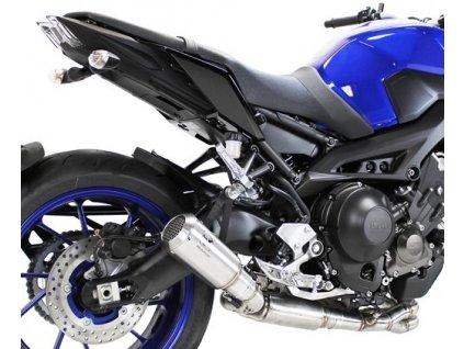 Výfuk IXRACE MK2 INOX / Yamaha MT-09 (14-19) / Yamaha XSR 900 (16-19)