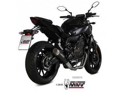 Výfuk MIVV GP PRO BLACK / Yamaha MT-07 (14-19)
