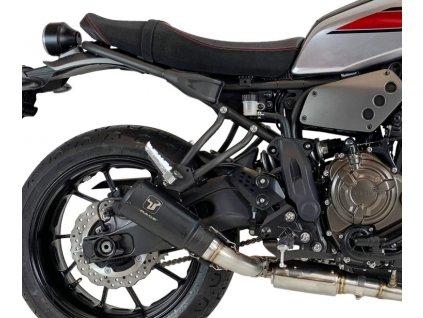 Výfuk IXRACE MK2 BLACK / Yamaha XSR 700 (16-19)