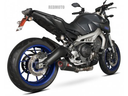 Výfuk Scorpion Hexagon Serket Taper KARBON / Yamaha MT-09 (14-16)