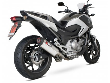 Výfuk Scorpion Serket Parallel Hexagon / Honda NC 700 X - S - DCT - ABS (12-13)