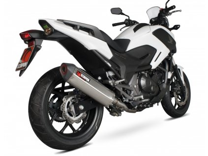 Výfuk Scorpion Serket Parallel Hexagon / Honda NC 750 X - S - DCT - ABS (14-15)