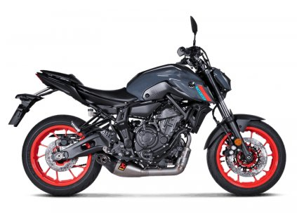 Výfuk Akrapovič TITAN / Yamaha MT-07 (21) / TRACER 7 / GT (20-21) / XSR 700 (21)