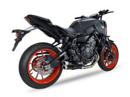 Výfuk IXIL L3XB DUAL HYPERLOW XL BLACK / Yamaha MT-07 (21) / TRACER 7 / GT (20-21) / XSR 700 (21)
