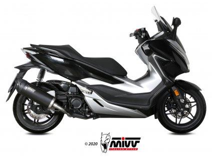 Výfuk MIVV MOVER NERO / Honda FORZA 300 (18-20)