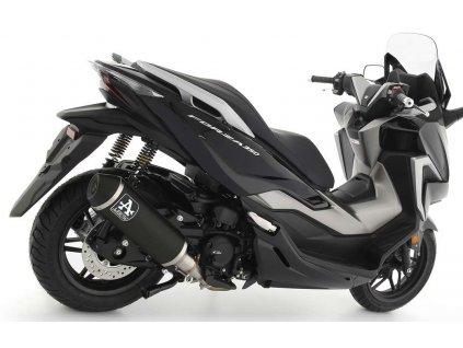 Výfuk ARROW URBAN Aluminium DARK / Honda FORZA 350 (21-22)