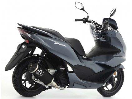 Výfuk ARROW URBAN Aluminium DARK / Honda PCX 125 (21-22)