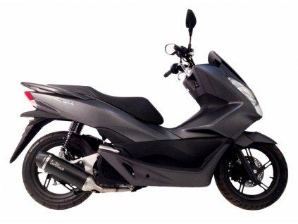 Výfuk LEO VINCE NERO / Honda PCX 125 (12-16)
