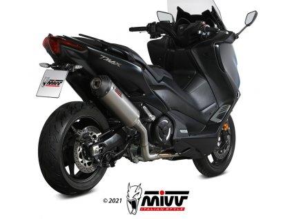 Výfuk MIVV TITAN OVÁL / Yamaha T-MAX 530 (17-19) / T-MAX 560 (20-21)