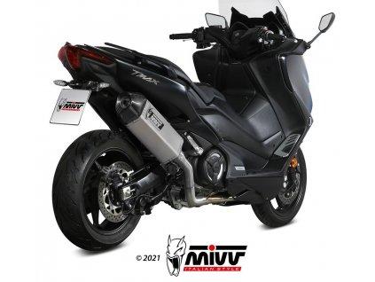 Výfuk MIVV Speed Edge / Yamaha T-MAX 530 (17-19) / T-MAX 560 (20-21)
