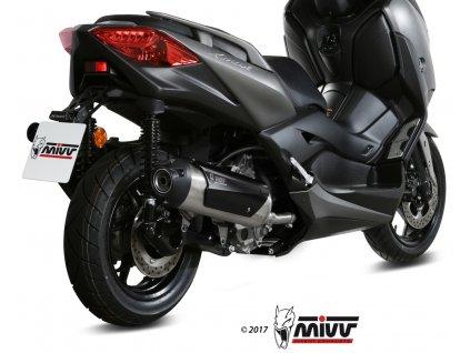 Výfuk MIVV URBAN Inox / Yamaha X-MAX 300 (17-20)