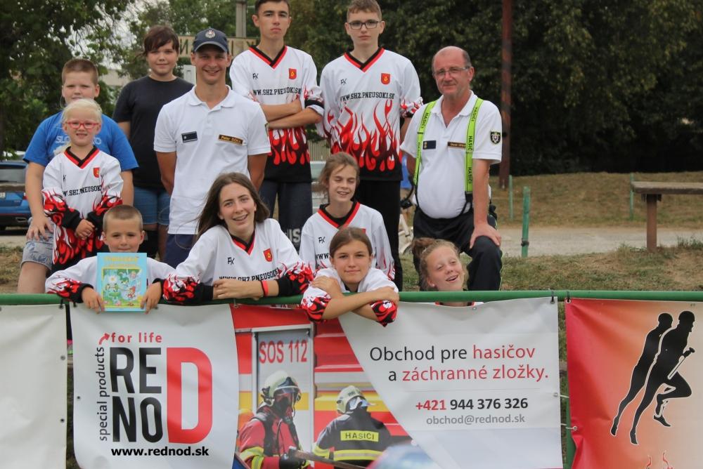 FOTO: V Križovanoch hasilo takmer 50 súťažných tímov, podporili sme ich bezpečnosť