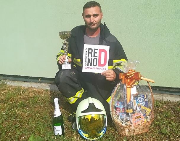 """Milanko Vyhlídal vyhral """"Železného hasiča"""" v Žarnovici"""