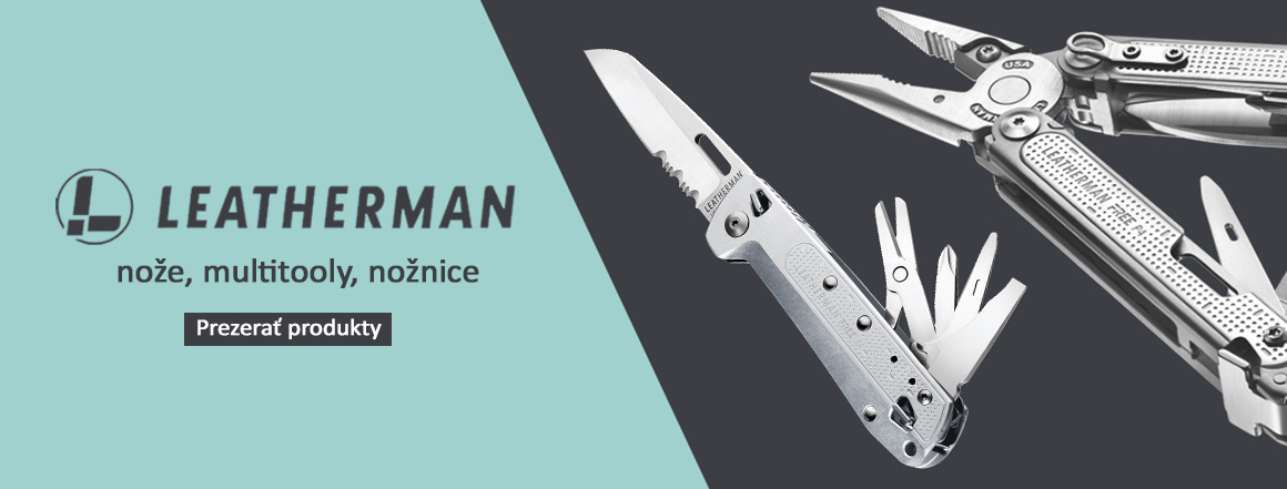 Nože a multitooly Leatherman