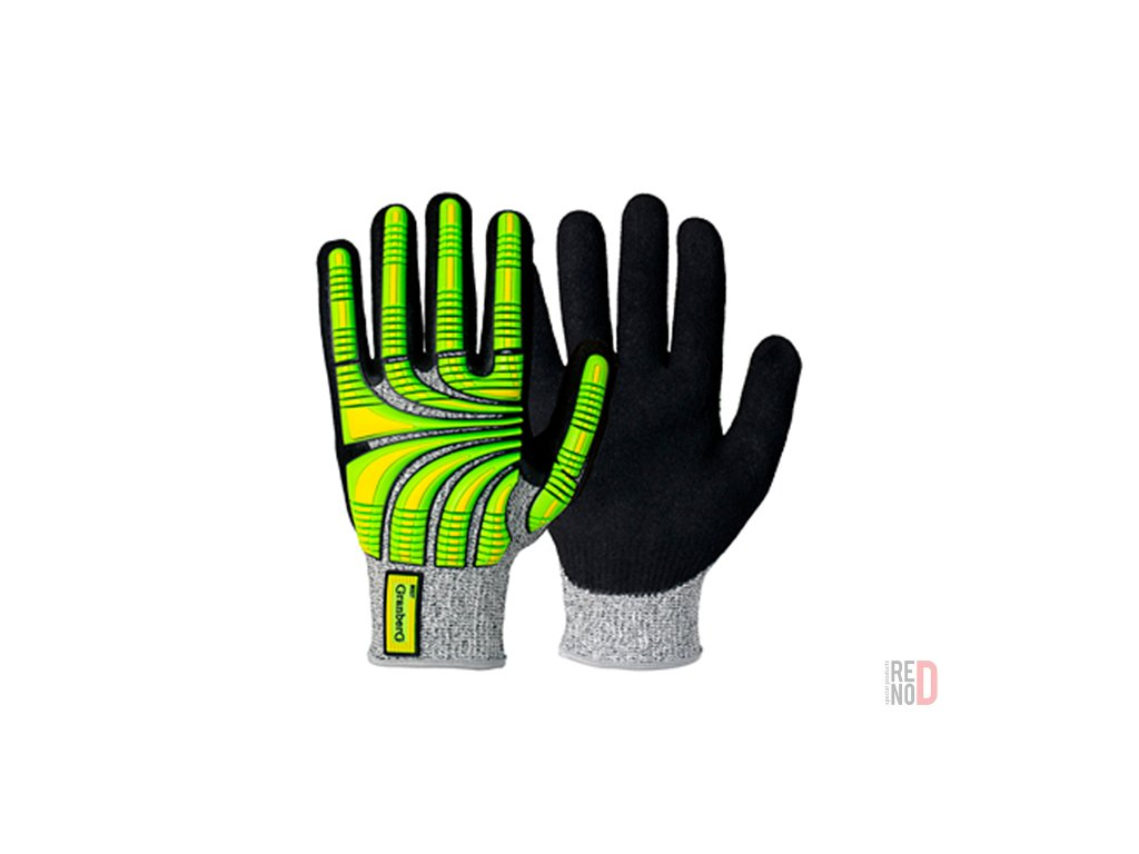 pracovne rukavice s nitrilovym povlakom
