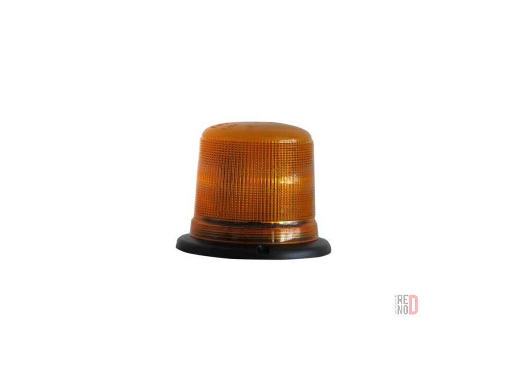 Majak LED 12 24V pevna montaz oranzovy vyska 116 mm