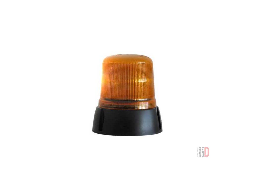 Majak LED 12 24V pevna montaz oranzovy vyska 154 mm