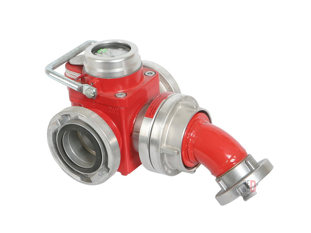 Pretlakový ventil s úpravou pre šport - zaplombovaný