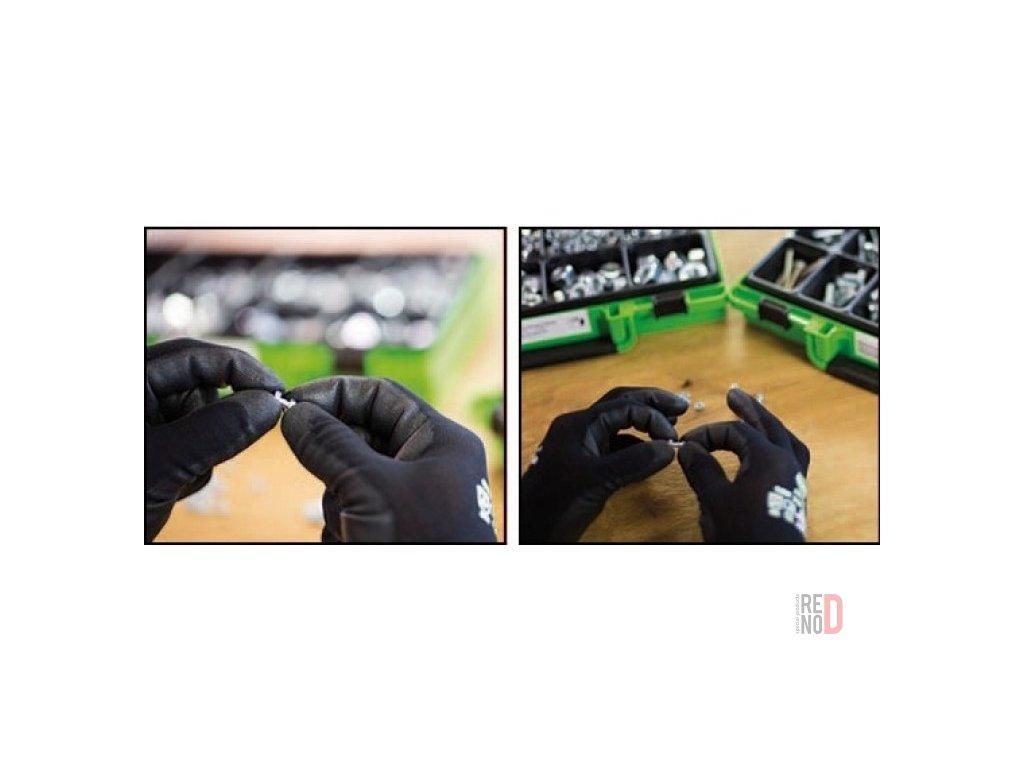 Montážne rukavice PU Soft