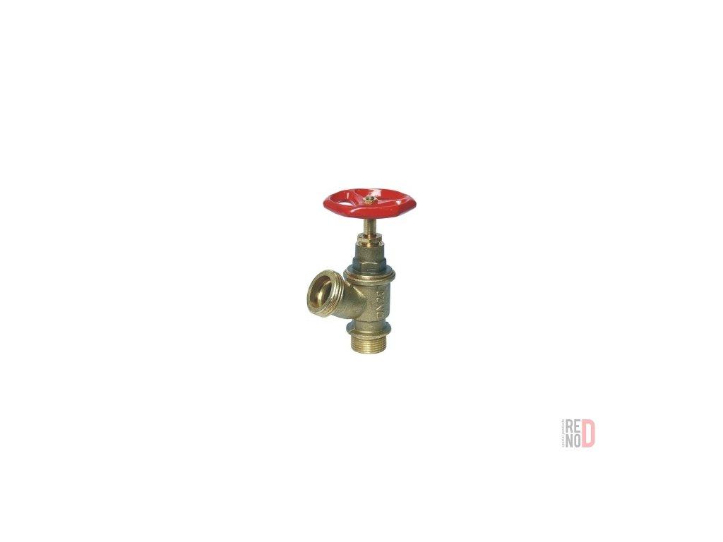"""Nástenný hydrant Ms D25 (Ventil 3/4"""", PN 10)"""