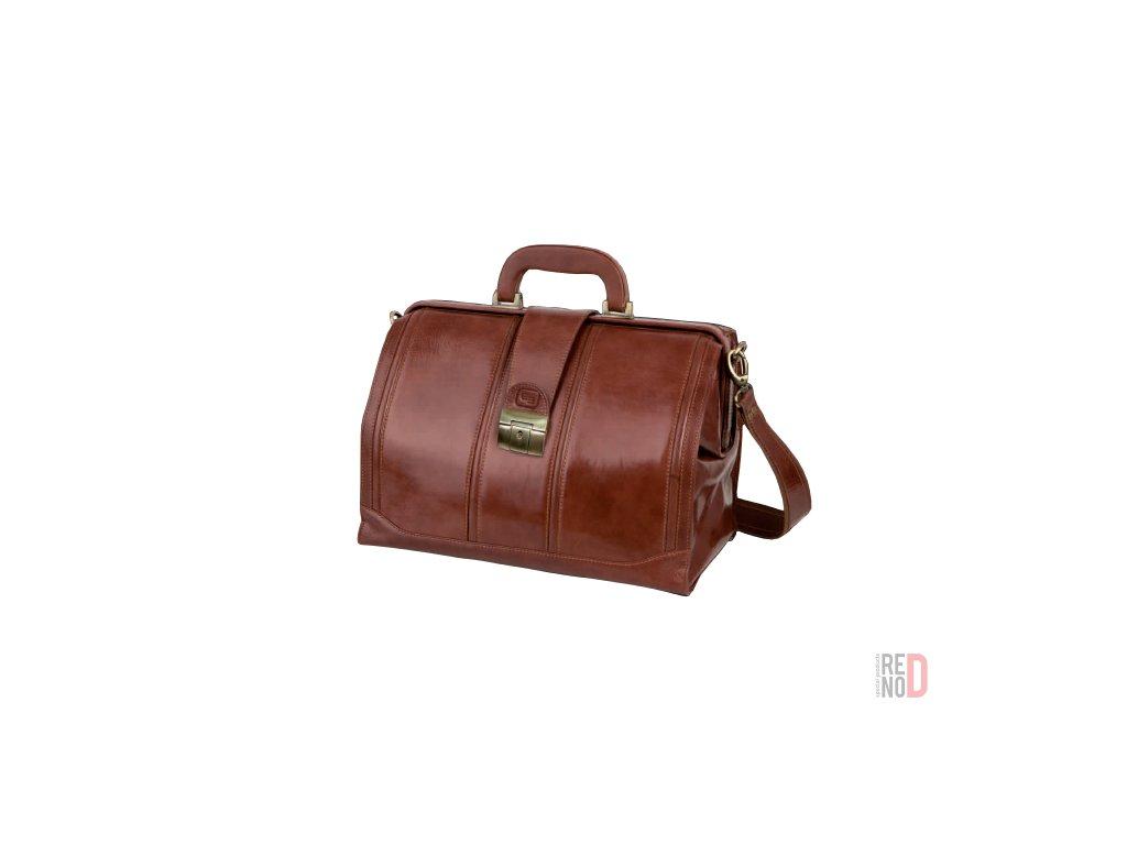 Kožená lekárska taška Doctor