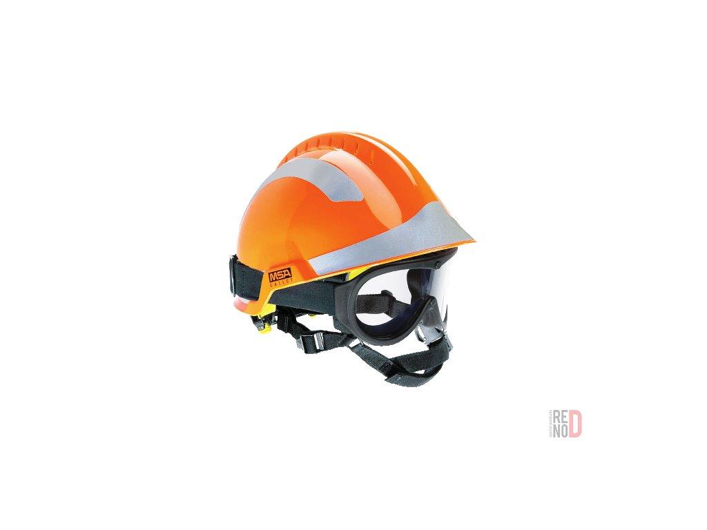 prilba f2 x trem oranzova bryle responder vetrana drzak svitilny 12425 2