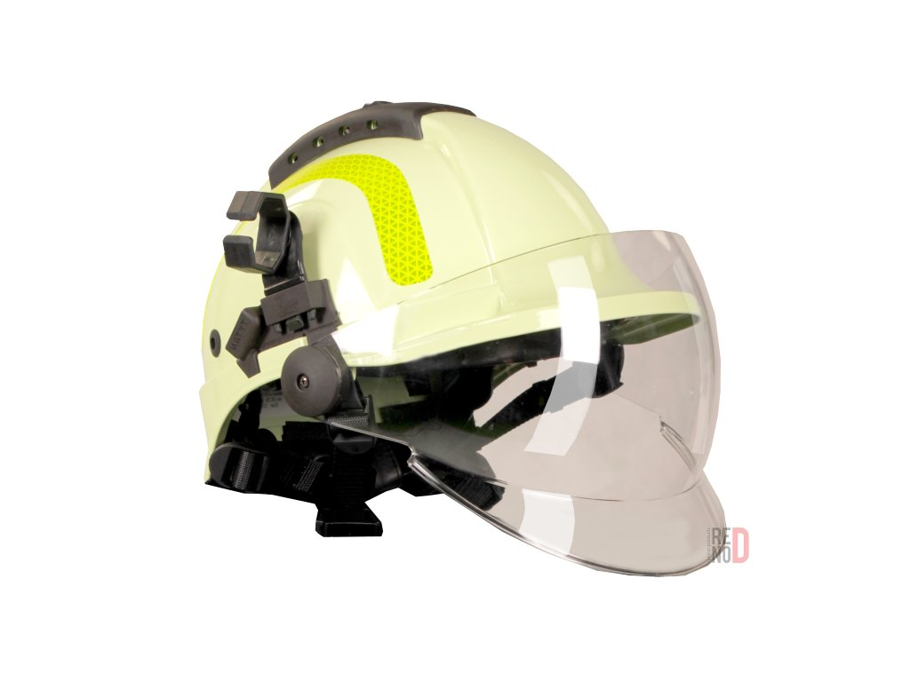 pracovni prilba pro hasice tytan hot celooblicejovy stit luminiscencni 10167 2