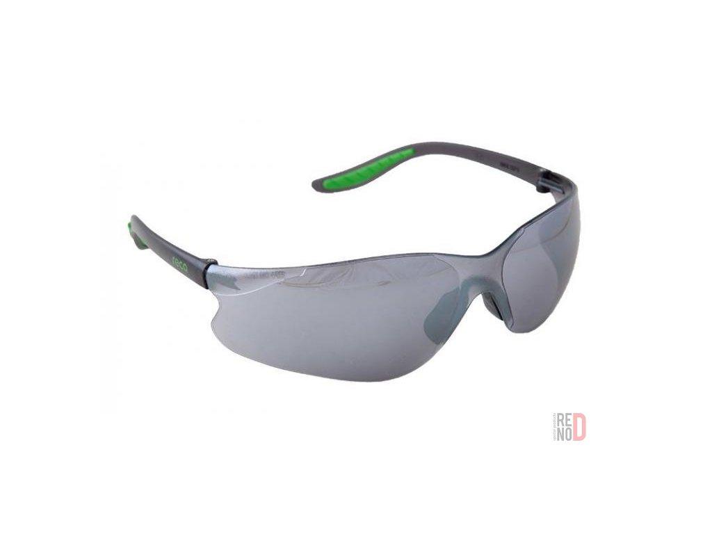 Tričko pánske tmavomodré, fluožltý nápis HASIČI + štýlové okuliare