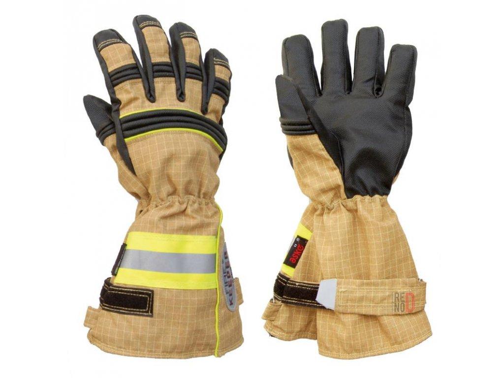 ASKÖ FIRE KEEPER PBI Matrix zásahové rukavice (dlhá manžeta)