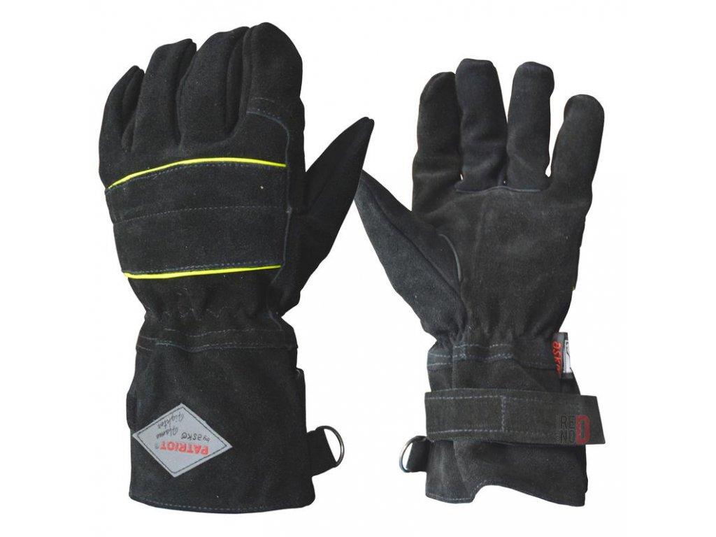ASKÖ PATRIOT FLAME FIGHTER zásahové rukavice (kompaktná manžeta)