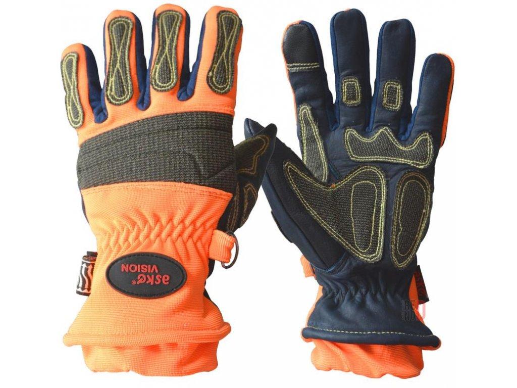 Záchranárske rukavice Vision (s membránou)