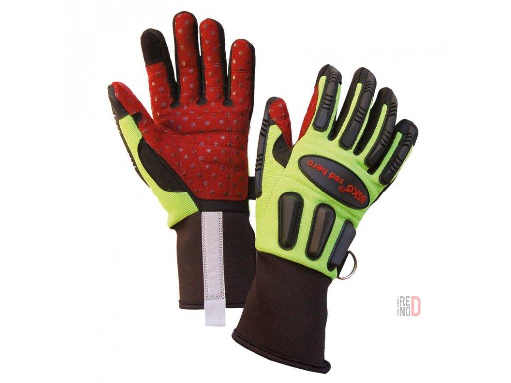 ASKÖ RED HERO záchranárske rukavice